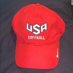 Nike USA Softball Cap